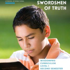 Swordsmen of Truth, Teacher's Lesson Book, Ages 10-12, Level 1, Semester 2